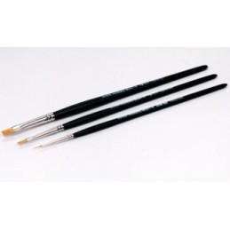 TAM-87067 Tamiya 87067 Modeling Brush HF Standard Set (87048/87047/87046)