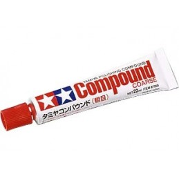 TAM-87068 Tamiya 87068 Tamiya Polishing Compound coarse