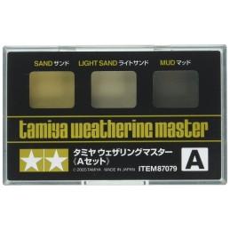 TAM-87079 Tamiya 87079 Weathering Master A Set - Sand, Light Sand, Mud