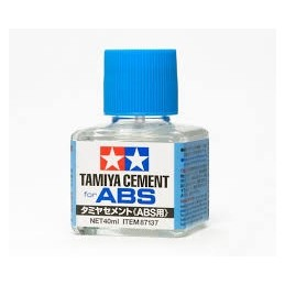 TAM-87137 tamiya 87137 ABS PLASTIC CEMENT - Adhesivo para plásticos ABS (40ml.)
