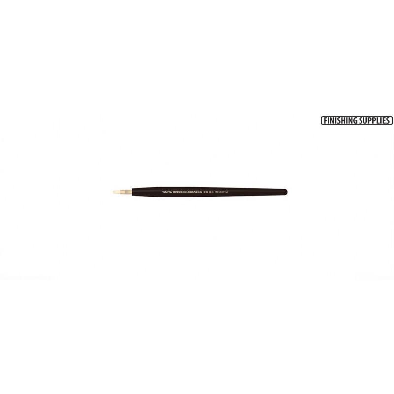 TAM-87157 Tamiya 87157 HG Flat Brush - Extra Small