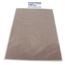 TAM-87168 Tamiya 87168 Diorama Sheet (Brick)