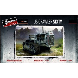 THU-35006 Thunder Models 35006 1/35 US Crawler Sixty