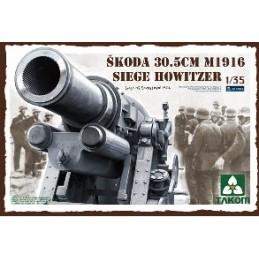 TKM-2011 1/35 Skoda 30.5cm M1916 Siege Howitzer