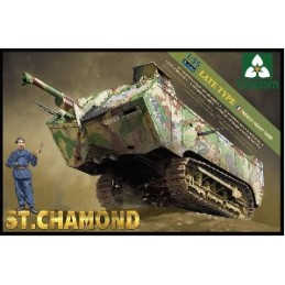 TKM-2012 1/35 French Heavy Tank St.Chamond Late Type