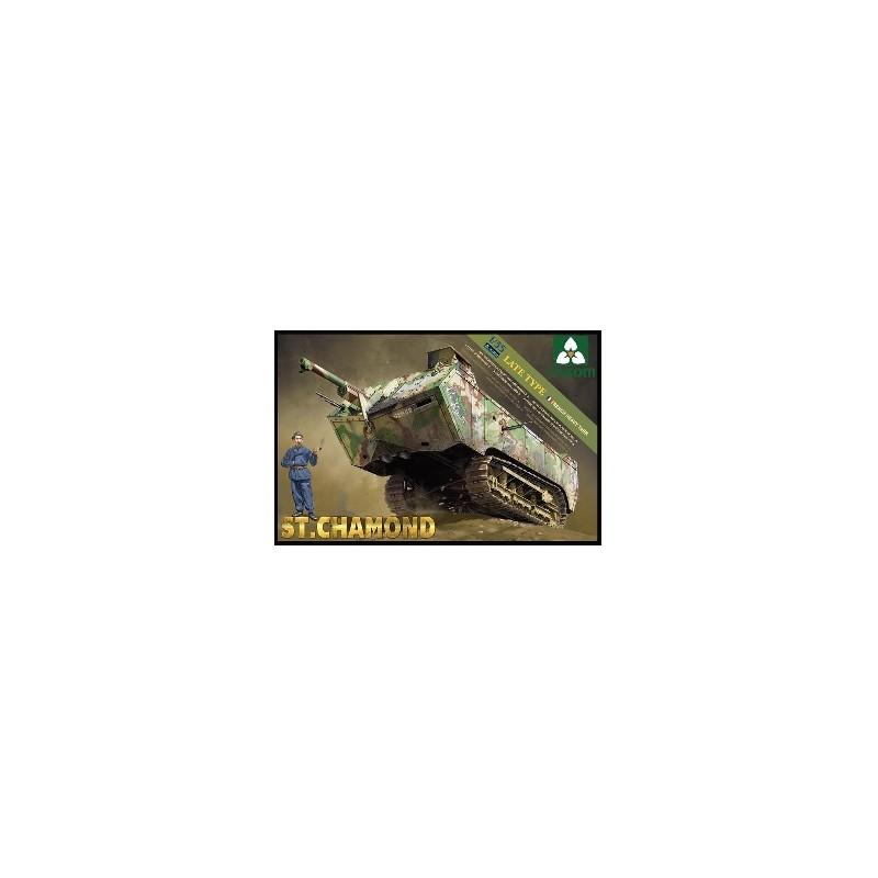 TKM-2012 1/35 French Heavy Tank St.Chamond Late Type