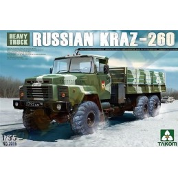 TKM-2016 1/35 Russian KrAZ-260 Truck