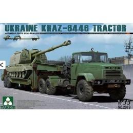 TKM-2019 1/35 Ukraine KrAZ-6446 Tractor w/ChMZAP-5247G Semi-trailer