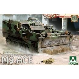 TKM-2020 TAKOM MODEL 2020 1/35 U.S Armored Combat Earthmover M9 ACE