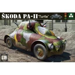 TKM-2024 1/35 WWII Skoda PA-II (Turtle)