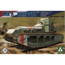 TKM-2025 1/35 WWI Medium Tank Mk A Whippet