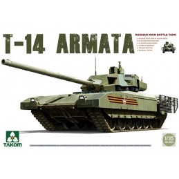 TKM-2029 TAKOM MODEL 2029 1/35 Russian Manin Main Battle Tank T-14 Armata