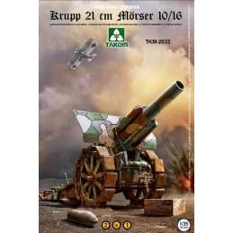 TKM-2032 1/35 Krupp 21 cm Morser 10/16 2in1