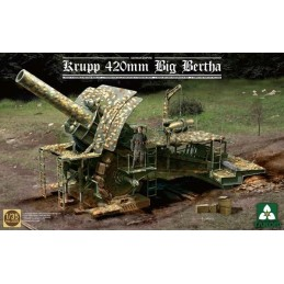 TKM-2035 TAKOM MODEL 1/35 German Empire 420mm Big Bertha Siege Howitzer