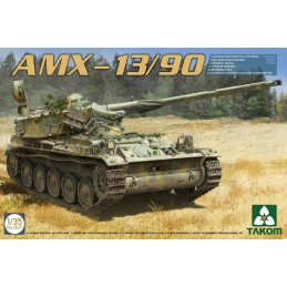 TKM-2037 TAKOM 2037 1/35 French light tank AMX-13/90