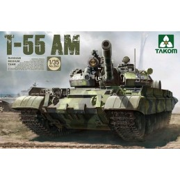 TKM-2041 1/35 TAKOM 2041 Russian Medium Tank T-55 AM