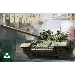 TKM-2042 TAKOM MODEL 2042 1/35 Russian Medium Tank T-55 AMV