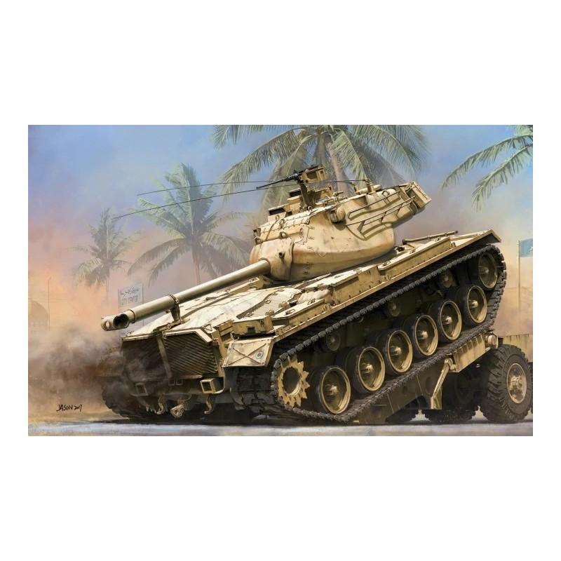 TKM-2072 Takom 2072 1/35 US Medium tank M47 E/M 2 in 1. Calcas españolas