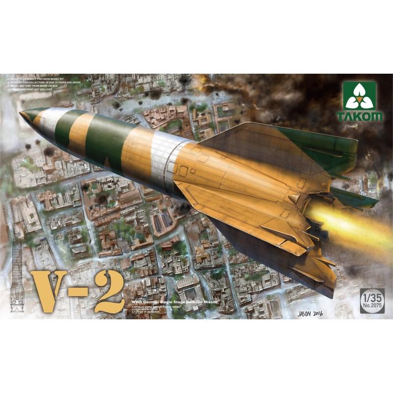 TKM-2075 TAKOM 2075   1/35 WWII German Single Stage Ballistic Missile V-2