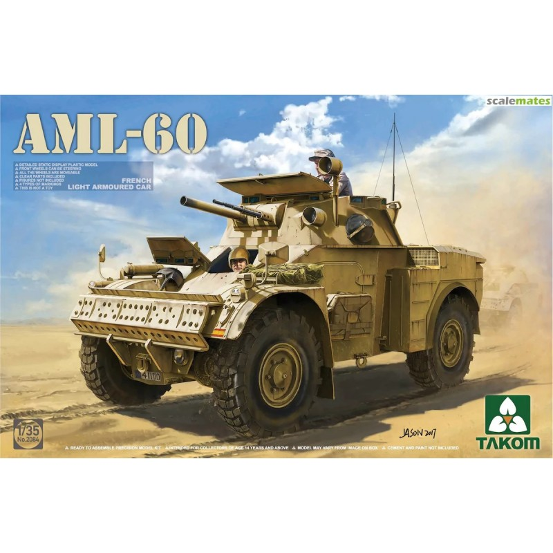 TKM-2084 Takom 2084 French Light Armored Car AML-60