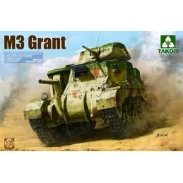 TKM-2086 TAKOM 2086 1/35 US Medium Tank M3 Lee Early