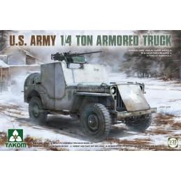 TKM-2131 takom 2131 1/35 U.S. Army 1/4 Ton Armored Truck