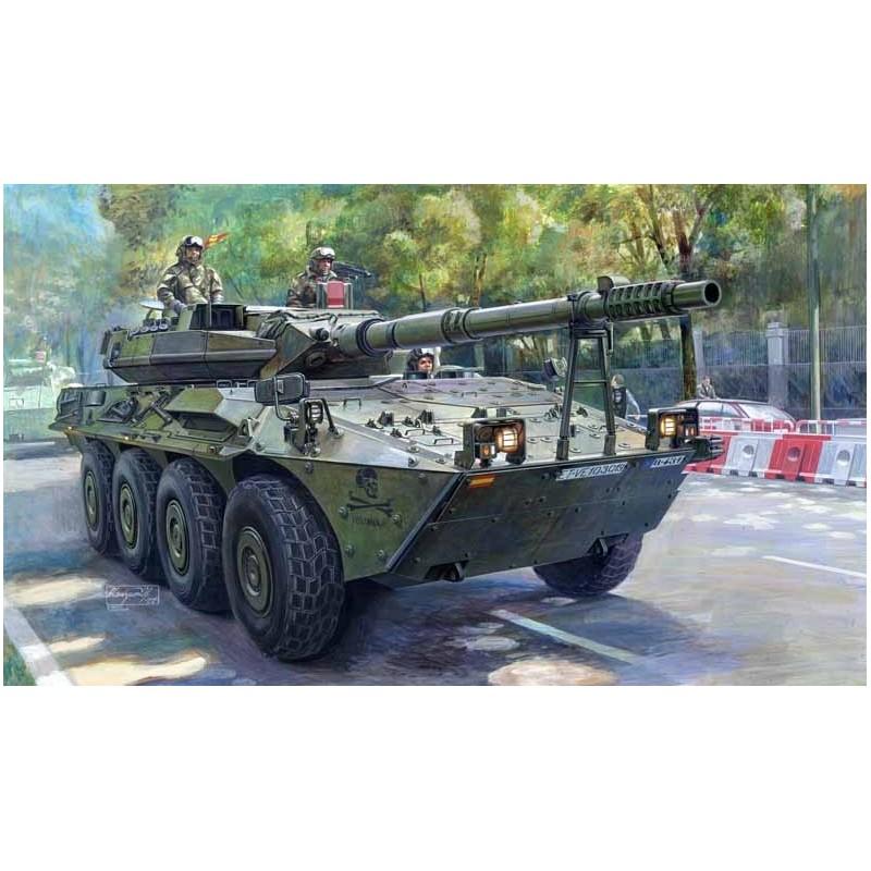 TRU-00388 trumpeter 00388 1/35 Spanish Army VRC-105 Centauro RCV