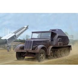 TRU-09537 Trumpeter 09537 1/35 Sd.Kfz. 7/3 Half-Track Artillery Tractor Feuerleitpanzer