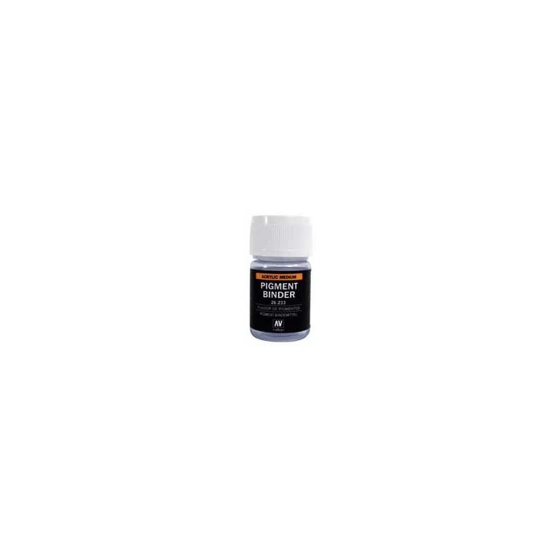 VAL-26233 Acrylicos Vallejo 26233 Fijador Pigmentos 30 ml.