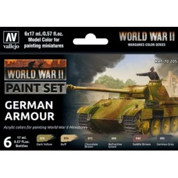 VAL-70205 Vallejo 70205 WWII- German Armou
