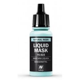 VAL-70523 Acrylicos Vallejo 70523 Máscara líquida. Frasco 17 ml.