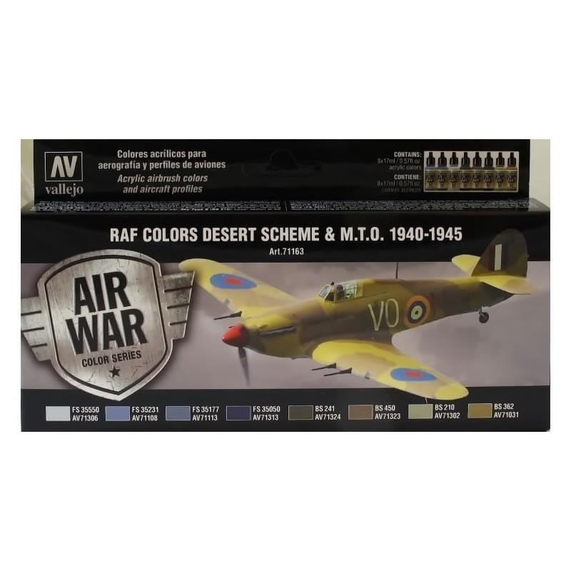 VAL-71163 acrylicos vallejo 71163 WWII RAF Desert (8) (17 ml)