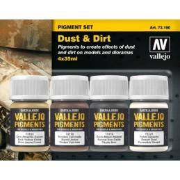 VAL-73190 acrylicos vallejo 73190 Polvo y Suciedad 35 ml.