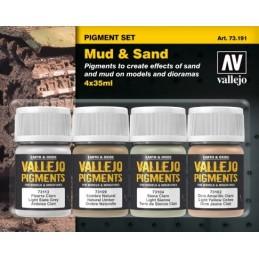 VAL-73191 acrylicos vallejo 73191 Barro y Arena 35 ml.