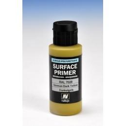 VAL-73604 Acrylicos Vallejo 73604 Imprimación Acrilica-Poliuretano. Frasco 60 ml. German Dark Yellow