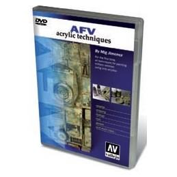 VAL-75000 DVD- Mig AFV (PAL). Técnicas con acrílicos