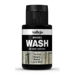 VAL-76518 Vallejo 76518 Model Wash Black