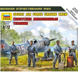 ZV-6187 Zvezda 6187 Soviet Air Force Ground Crew