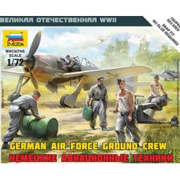 ZV-6188 Zvezda 6188 1/72 German Air Force Ground Crew