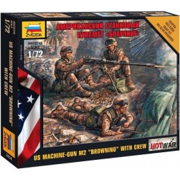ZV-7414 Zvezda 7414 1/72 AMERICAN MACHINE GUN BROWNING