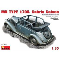 1/35 GERMAN STAFF CAR 170