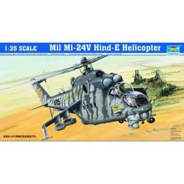 TRU-05103 Trumpeter 05103 1/35 Mil Mi-24V Hind-E Helicopter