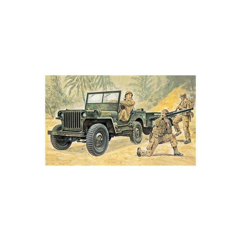 Willy/'s Jeep Plastic Kit 1:35 Model 0314 ITALERI
