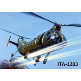 ITA-1203 1/72 H-21C GUNSHIP...