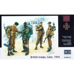 MB-3512 1/35 British Troops...