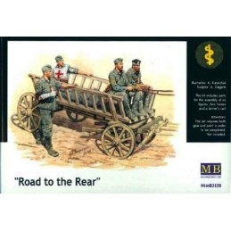MB-3558 1/35 Road to the Rear