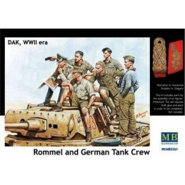 MB-3561 1/35 Rommel and...