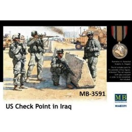 MB-3591 1/35 US Check Point...