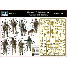MB-35154 1/35 Modern US...