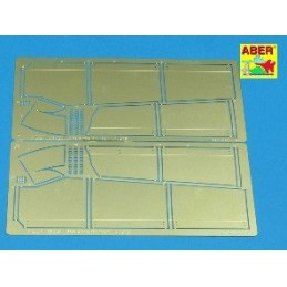 ABE-35A40 1/35 Side skirts...